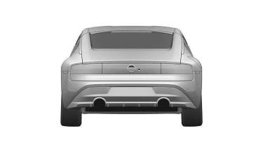 Nissan Z Proto patent rear