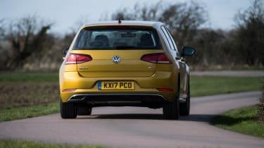 Volkswagen Golf rear cornering