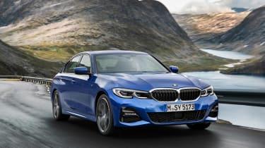 BMW 3-series review - front quarter