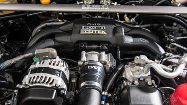 Toyota GT86 turbo Fensport engine