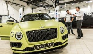 Bentley Bentayga Pikes Peak - front