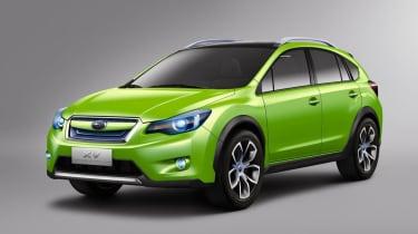 Shanghai motor show: Subaru XV Concept