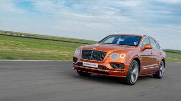 Bentley Bentayga Speed - nose