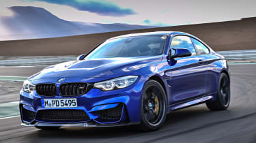 BMW M4 CS - front tracking