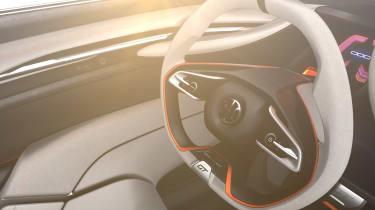 Pininfarina HK GT - steering wheel