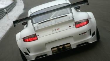 Porsche 911 RSRs at Le Mans 2013