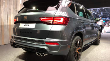 Cupra Ateca – rear quarter
