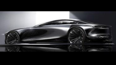 Mazda Vision Concept Coupe - sketch