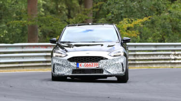 2019 Ford Focus ST prototype - nose