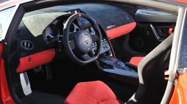 Lamborghini Gallardo LP570-4 Super Trofeo Stradale interior