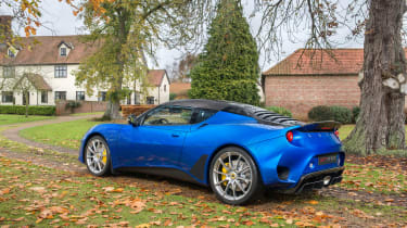 Lotus Evora GT410 - rear quarter