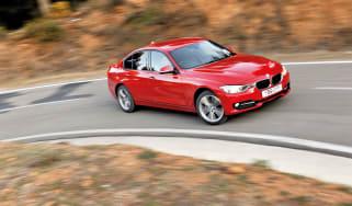 BMW 320d m sport drift, rally spain stage tarmac