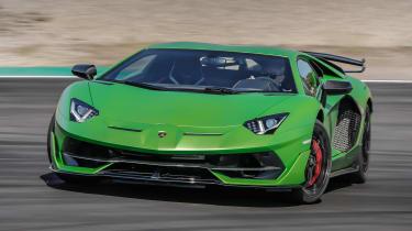Lamborghini Aventador SVJ front