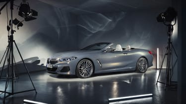 BMW 8-series Convertible - front