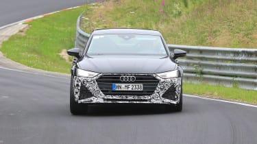 Audi RS7 spy - front