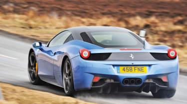 Ferrari 458 – rear quarter