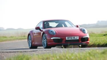 2012 Porsche 911 Carrera manual front