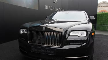Goodwood Festival of Speed - Rolls-Royce Dawn Black Badge