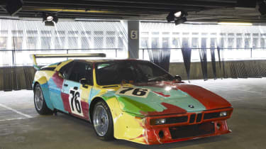 BMW M1 group 4 by Andy Warhol