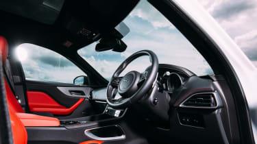 Jaguar F-Pace - Interior
