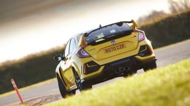 Honda Civic Type R Limited Edition - rear cornering