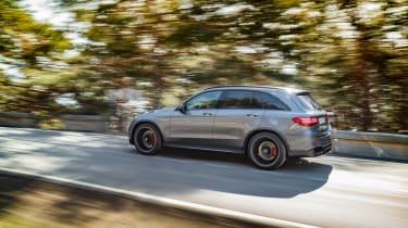 Mercedes-AMG GLC 63 tracking