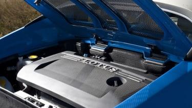 Lotus Elise S Club Racer supercharged engine