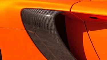 McLaren 650S carbon side vent