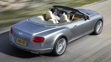 New Bentley Continental GTC