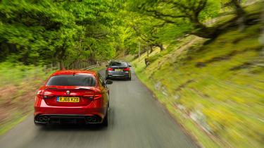 Alfa Giulia vs M3 CP - rear