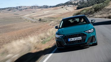 Audi A1 First Edition - teal nose
