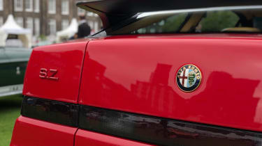 Alfa Romeo SZ - tail