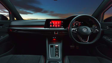 Volkswagen Golf GTI Clubsport 45 – cabin