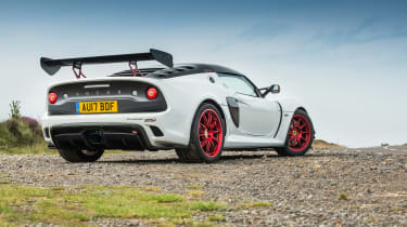 Lotus Exige 380 Cup - rear quarter