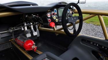 Arial Atom V8 cabin