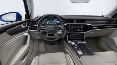 Audi A6 Avant launch - interior
