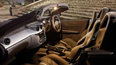 Ferrari 599 SA Aperta - interior