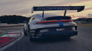 992 Porsche 911 GT3 Cup rear