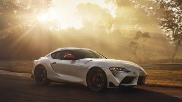 Toyota Supra - white