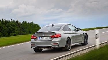 BMW M4 CS - rear tracking