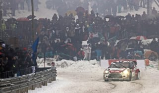 2013 Monte Carlo rally Citroen Sebastien Loeb wins