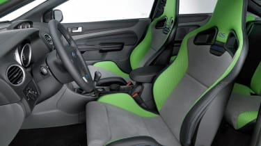 Ford Focus RS Mk2 – front seats