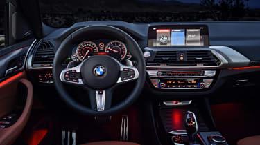BMW X3 M40i - interior dark