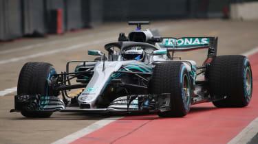 Mercedes F1 2018 car - pit