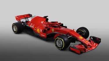 Ferrari F! 2018 car - top