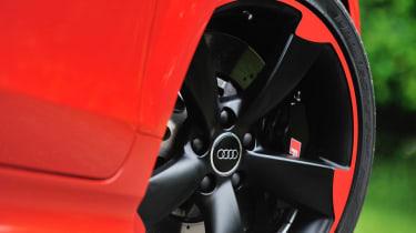 2013 Audi TT RS Plus red trim alloy wheel