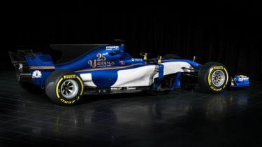 Sauber F1 car side