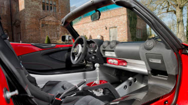 Lotus Elise Sprint interior
