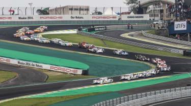 First corner - FIA WEC Brazil