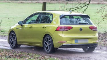 Volkswagen Golf 8 spy - rear